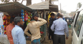 Mobile Court to enforce Tobacco Control Law at Sadar in Netrokona.