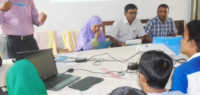 Awareness Meeting with Health Assistant at Kalihati in Tangail.