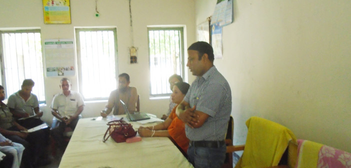 Awareness Meeting with Health Assistant at Nagarpur, Tangail.