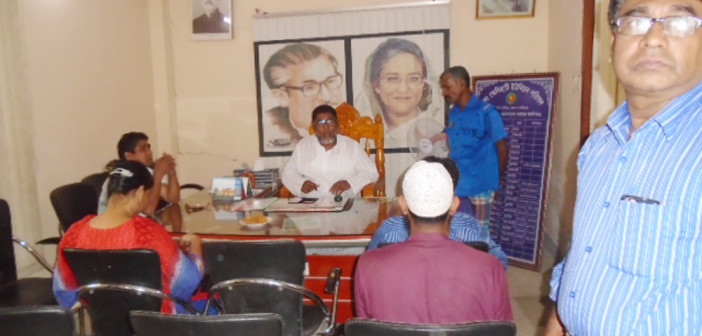 Hold Awareness Meeting with Local Govt at Sreepur in Gazipur